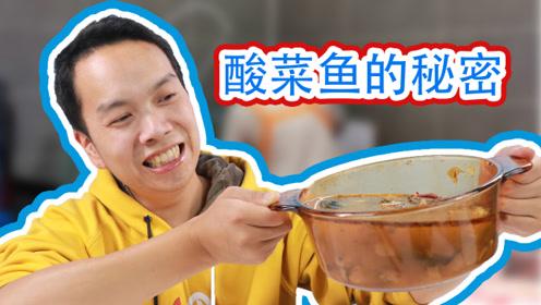 """试吃8块钱买的调料做成的""""酸菜鱼"""",满满的一大锅,吃的好过瘾"""
