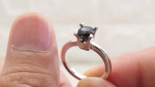 日本一男子收集剪下来的指甲一年 做成订婚戒指