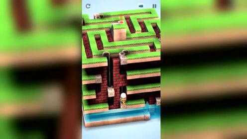 机械迷宫,立体迷宫,顺着重点往回找才是好方法