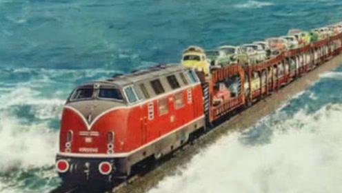 """火车从广州到海南,究竟怎么""""过海""""的?看完佩服设计师的智慧!"""
