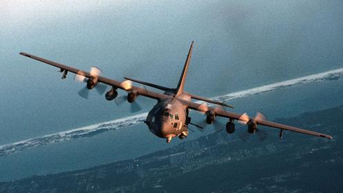运输机摇身一变扛起重炮 空中炮艇AC130何以独步全球
