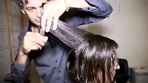 魅力成熟款女人短发,剪出来的效果很美