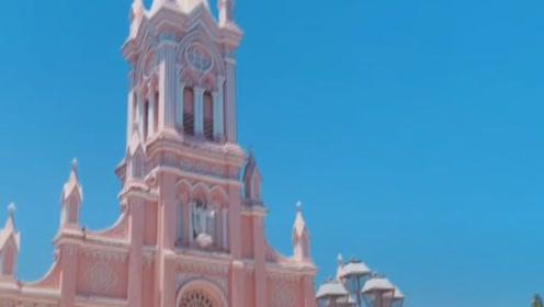 少女感满满!从里到外都是粉红色,堪称世界最浪漫的教堂