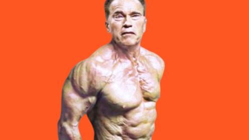 72岁施瓦辛格,肌肉依然逆天,不愧是健美界一代战神