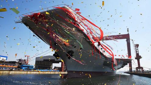 国产航母涂刷舷号?002号航母已完成所有测试,正式服役不远了