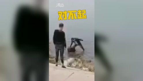 """葫芦岛一女孩被一群男女围殴 脑袋被摁进水里连呼""""对不起"""""""