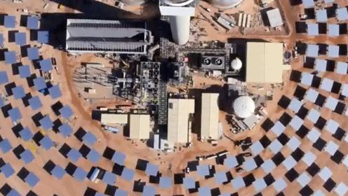 世界最大太阳能发电站,上空温度高达500度,鸟类飞过会被烤熟?
