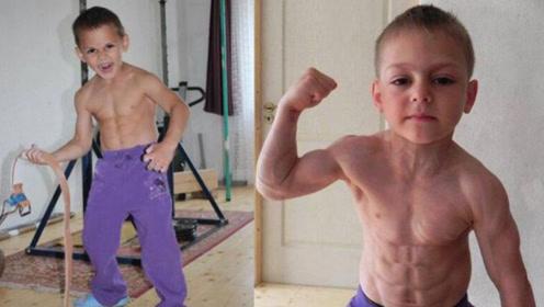 """健美界""""肌肉神童""""!14岁肌肉堪比成年人,又一个施瓦辛格?"""