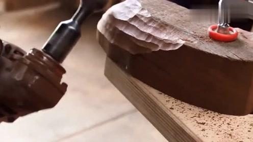 谁发明这么好用的工具,木工看到都要流口水了!