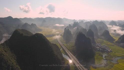 这条公路美到逆天了,真是中国人的骄傲,连英国媒体都报道了