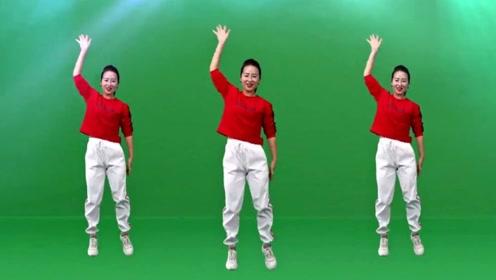 一学就会的广场舞《甜甜甜》简单适合零基础人群学跳