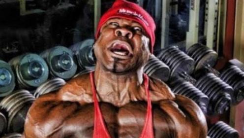 靠鸡胸肉练就逆天肌肉,体重高达266斤,健身故事超励志