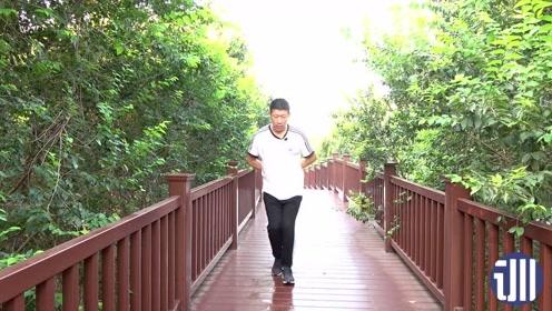 每天走矮子步50米,提升肾气,比深蹲更好,肾气充足身体棒