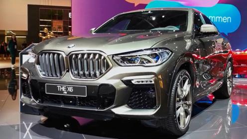 2020宝马X6即将正式上市,车长近5米,颜值和配置升级,还买啥Q8?