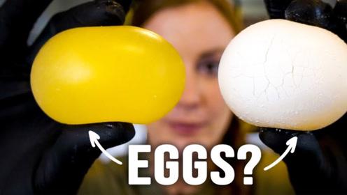 """将鸡蛋放入神秘液体,几天后蛋壳竟""""融化""""了,这是什么原理?"""