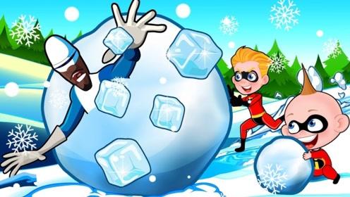 男孩的甜蜜约会被毁了,就因为一个小举动,他被淘气小孩扔进了雪里!