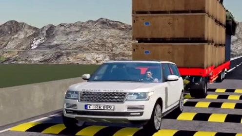 模拟驾驶:模拟驾驶开路虎送货,场景太刺激了,过了把豪车瘾!