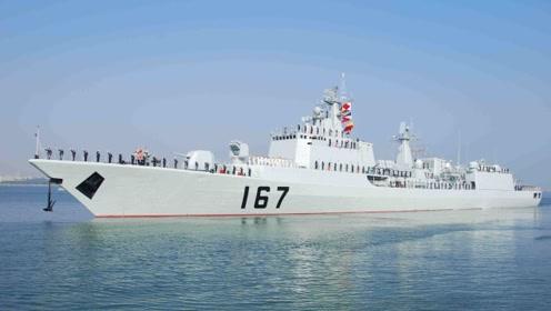 获得中华第一舰美誉的深圳舰绝非放大版054A