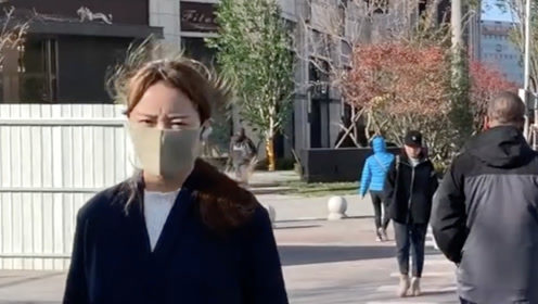 京城大风蓝色预警 一夜黄叶飘满地 学生:我还没穿秋裤呢!