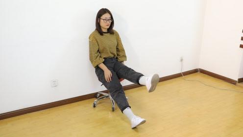膝盖疼的蹲不下去?每天做1个动作,强健关节,膝盖变强壮