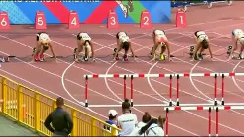 俄罗斯跨栏比赛简直就是选美比赛,就应该静静的欣赏