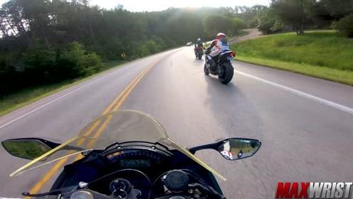 最快的街头骑手在哪里?第一视角带你感受摩托车骑行