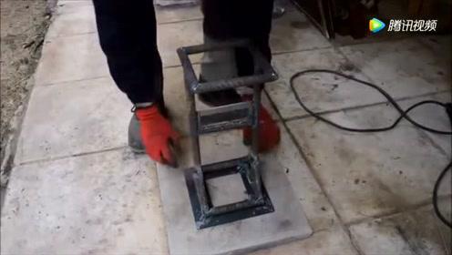 哪个发明的安全劈柴器,省力10倍都不止,功能太实用了