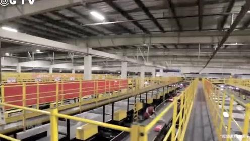 16.57亿个包裹!直击双11物流现场