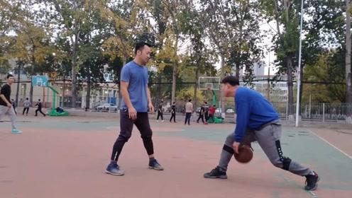 理工大学高手区篮球赛,这水平怎么样?