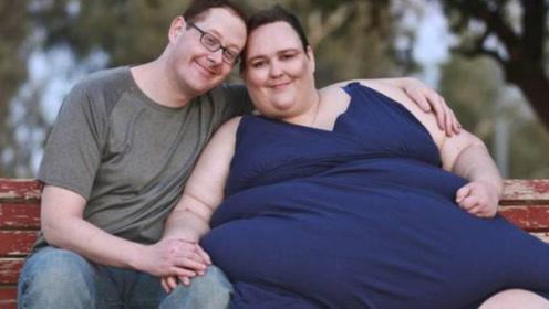 胖出自信的奇葩女人,立志突破2000斤?真爱丈夫:我支持她