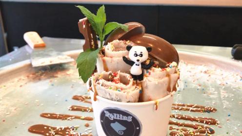 用奇趣蛋做炒冰淇淋,造型随意摆,好吃又好玩!