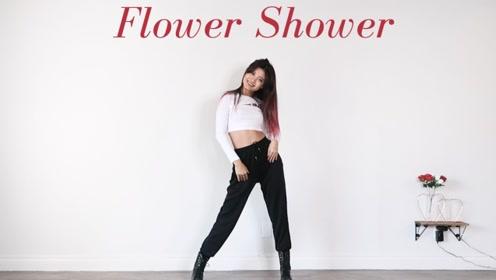 泫雅Flower Shower翻跳 无剪切练习室版本