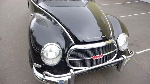 2冲程的1961年老奥迪AUDI 1000s