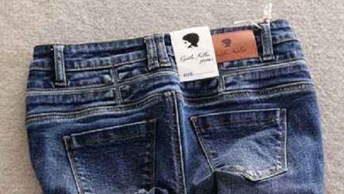为何牛仔裤后腰都有一块皮标,到底是干什么的?看完涨知识