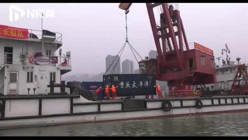 船舶碰撞失控有人落水货车起火!现场直击长江干线重庆段搜救演习