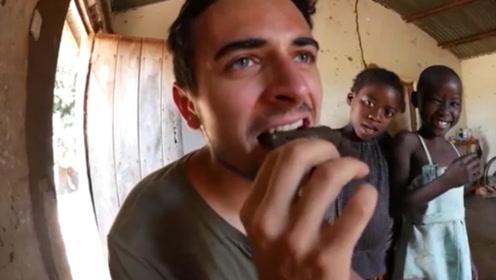 """国外最重口味的食物,用50万只蚊子做成""""汉堡"""",你敢品尝吗?"""