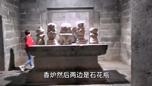 万历皇帝亲弟弟的地宫,整座地下宫殿建造的太豪华了