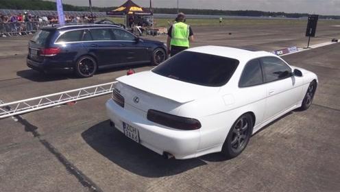 雷克萨斯单挑奔驰E,日系车和德系车的差距一目了然!