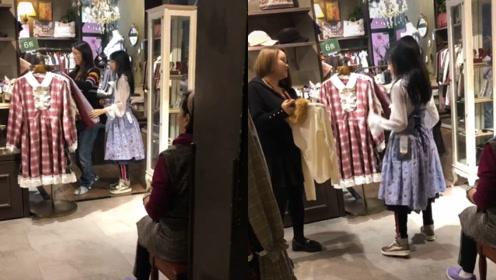 徐峥陶虹一家带女儿逛街购物,徐小宝亭亭玉立身高赶超妈妈