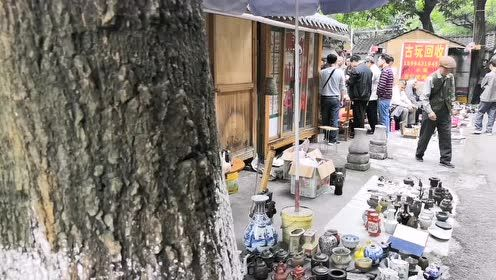 捡漏还是打眼?唐人文化园周末集市是南宁文玩爱好者的天堂!