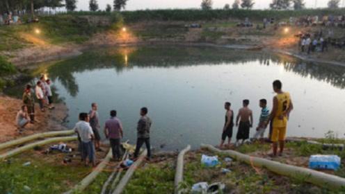 浙江有一水潭,村民用5台抽水机抽了17天,发现世界奇迹