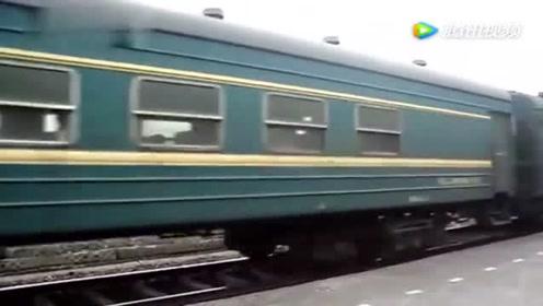 皖赣线上的绿皮火车 南京至黄山7101次出绩溪县站 现已停运