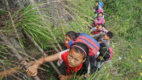 天边的彝族村落,几百年的世外桃源,出行方式却让人傻眼!