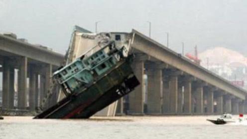 日本一大桥崩塌,却要求中国赔偿,知道原因后让人很无语