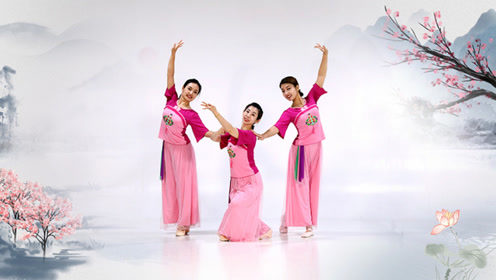 糖豆广场舞课堂《稻花香》柔美古风舞教学