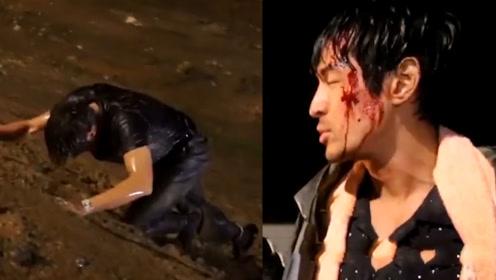胡歌面临演技分水岭,剧中中枪落水泥地攀爬,直言:我不是自己了