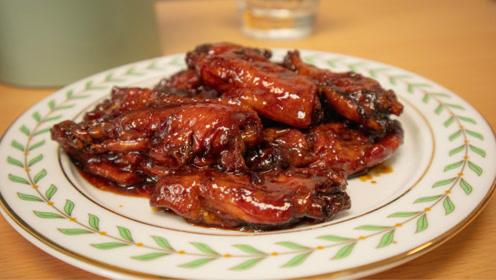 这才是可乐鸡翅最简单做法,肉质超嫩,味道鲜美,大人小孩都爱吃