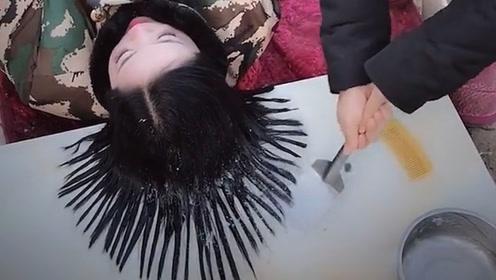 搞笑视频:不是我吹 就这个发型 也只有在北方才能有