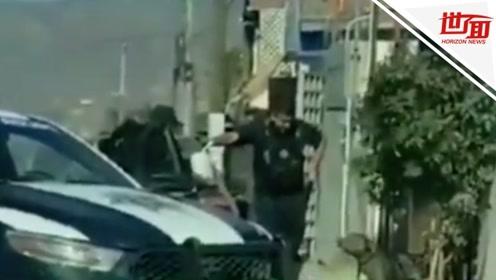 看门狗狂叫不止 警察一秒掏枪将其无情击毙惹众怒