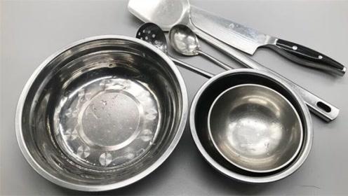 不锈钢餐具你家还在用吗?好多人还不清楚,都看看,不然追悔莫及